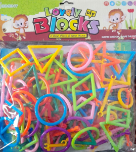 Lovely diy Blocks. Jucarii de construit din plastic