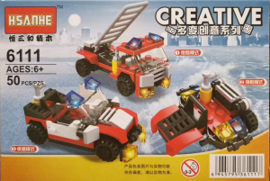 Creative set lego masina de pompieri 3 in 1