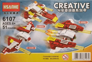 Creative set lego drone de lupta