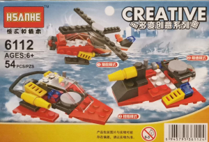 Creative set lego elicopter 3 in 1