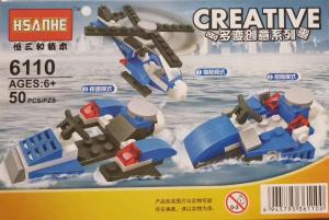 Creative set lego elicopter de politie