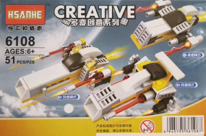 Creative set lego nave spatiale 3 in 1