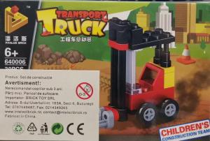 Transport Truck set lego stivuitor