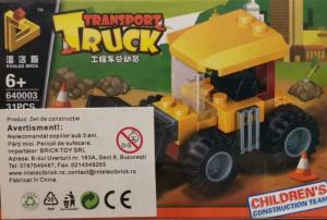 Transport Truck set lego buldozer