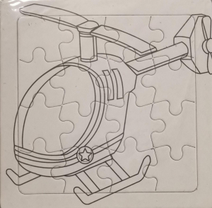 Set 3 puzzle-uri de colorat cu vehicule [1]