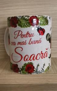 Cana ceramica Pentru cea mai buna Soacra