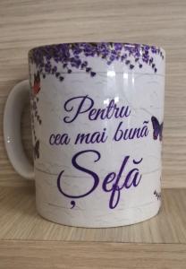 Cana ceramica Pentru cea mai buna Sefa