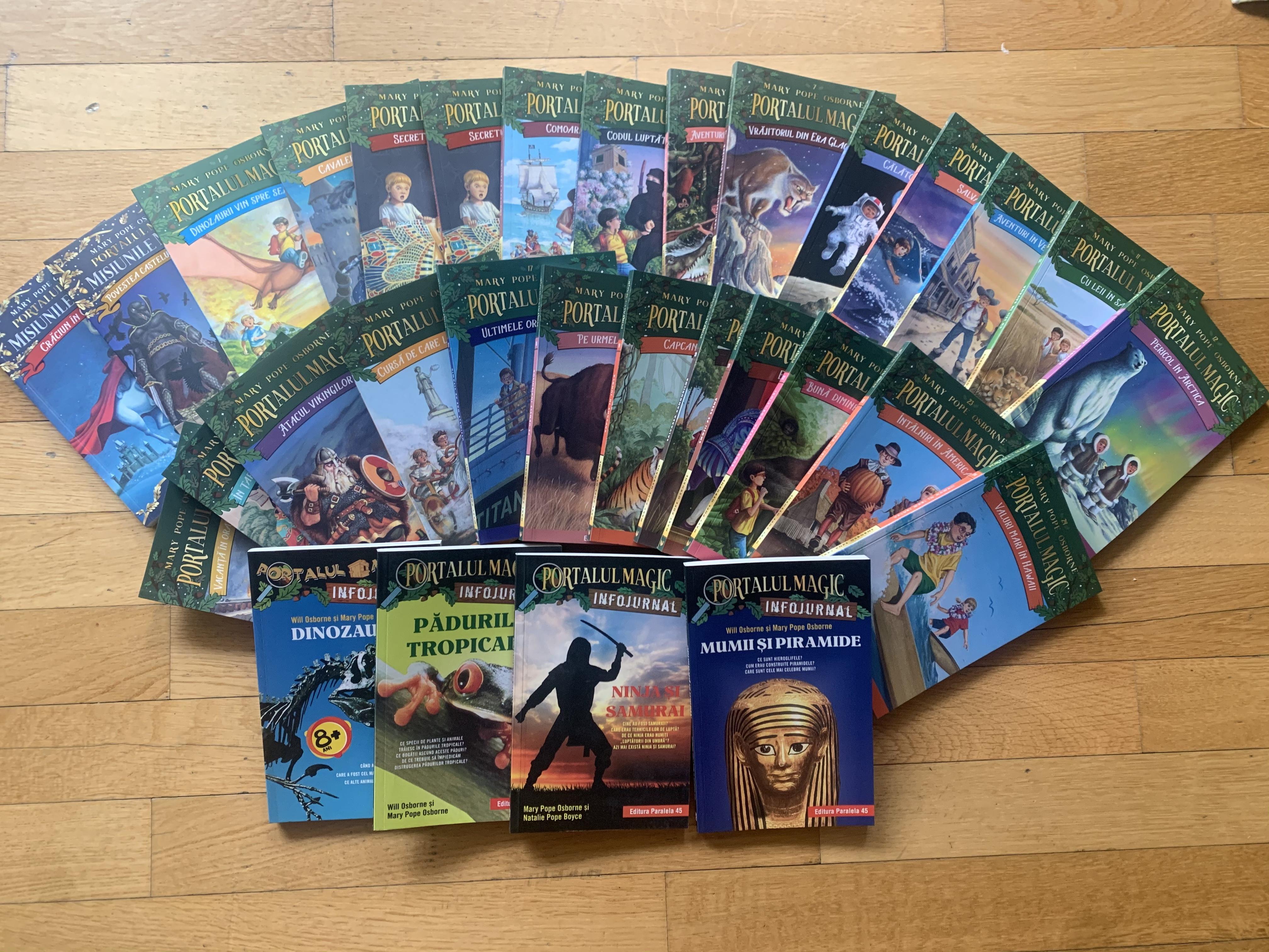 Carti de citit pentru copii - Seria Portalul magic