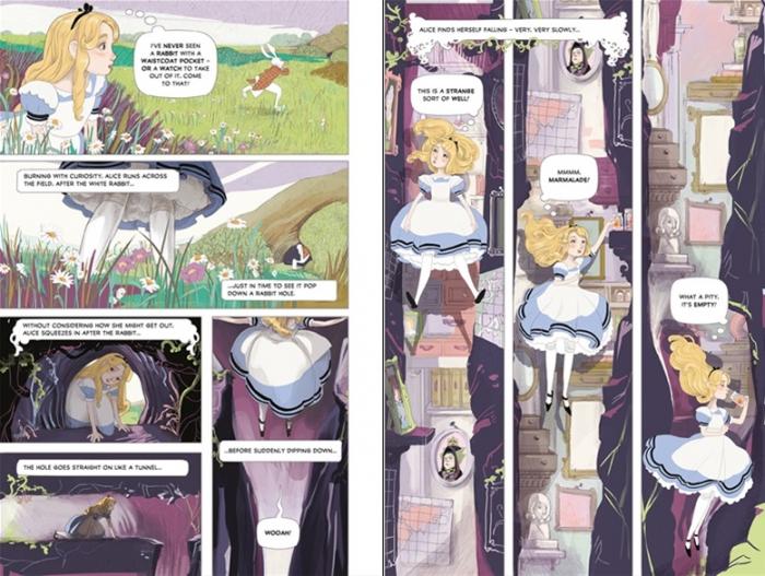 Alice in Wonderland graphic novel [1]