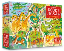 At the zoo puzzle book and jigsaw [0]