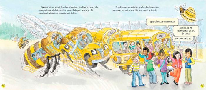 Autobuzul magic. În stupul de albine [5]