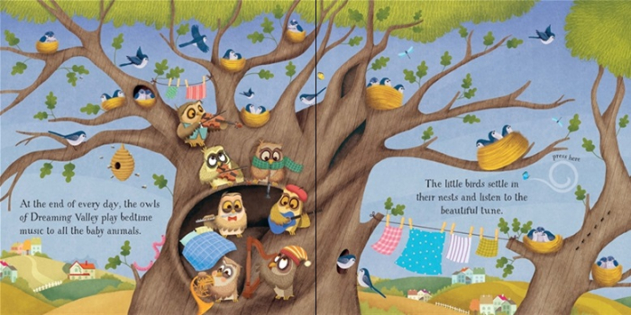 Baby's bedtime music book [1]