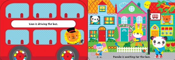 Baby's very first bus book [1]