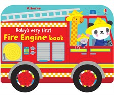 Baby's very first fire engine book [0]