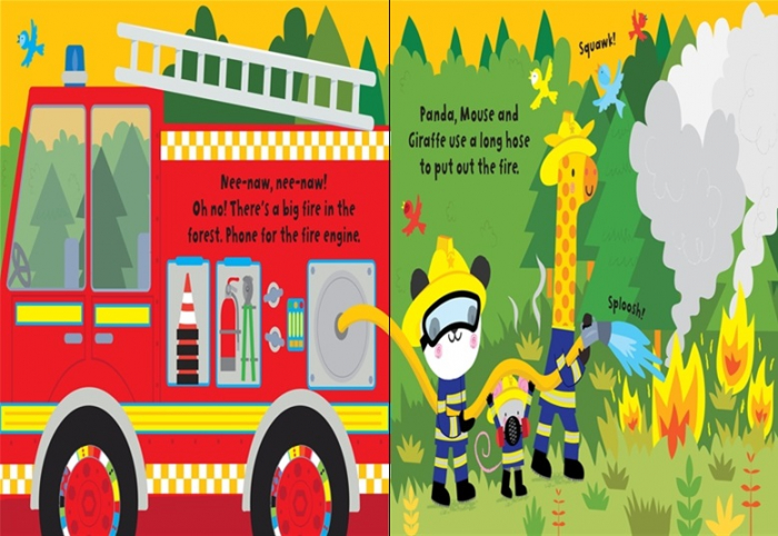 Baby's very first fire engine book [3]