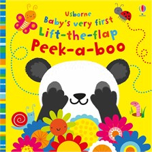 Baby's very first lift-the-flap peek-a-boo [0]