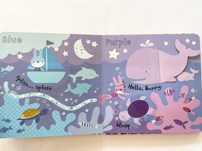 Baby's very first touchy-feely colours play book [3]
