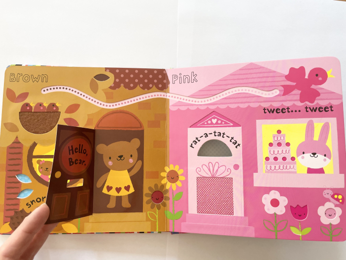 Baby's very first touchy-feely colours play book [4]