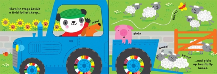 Baby's very first tractor book [2]