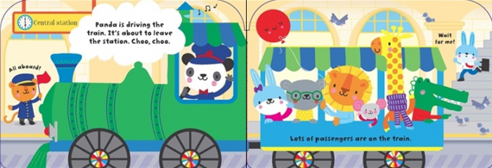 Baby's very first train book [1]