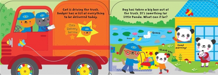 Baby's very first truck book [1]