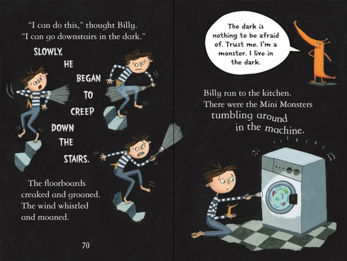 Billy and the Mini Monsters :Monsters in the Dark [2]