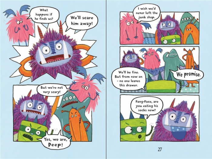 Billy and the Mini Monsters :Monsters in the Dark [1]