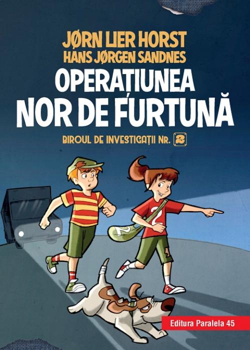 Biroul de investigații nr. 2. Operaţiunea Nor de furtună (ediție cartonată) [0]
