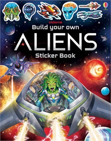 Build Your Own Aliens Sticker Book [0]