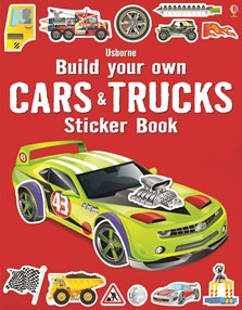 Build your own cars and trucks sticker book [0]