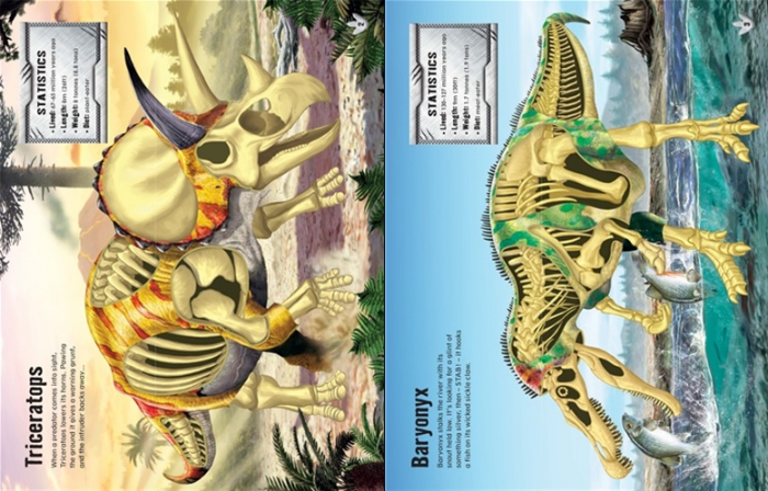 Build your own dinosaurs sticker book [1]