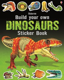 Build your own dinosaurs sticker book [0]