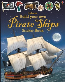 Build your own pirate ships sticker book [0]