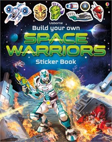 Build Your Own Space Warriors Sticker Book [0]