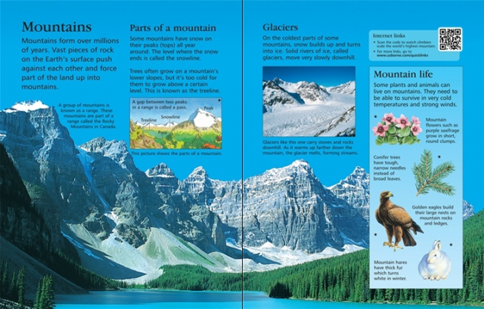 Children's encyclopedia with QR links [3]