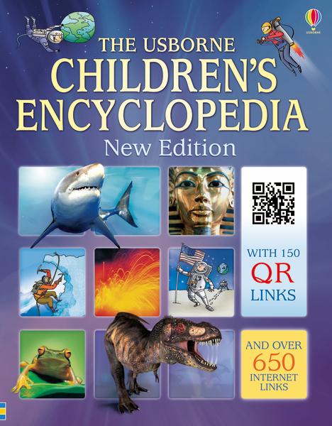 Children's encyclopedia with QR links [0]