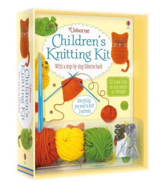 Children's knitting kit [0]