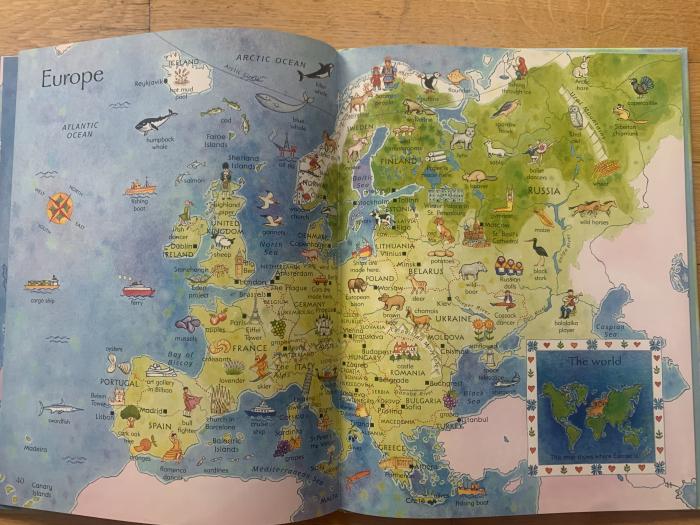 Children's picture atlas [3]