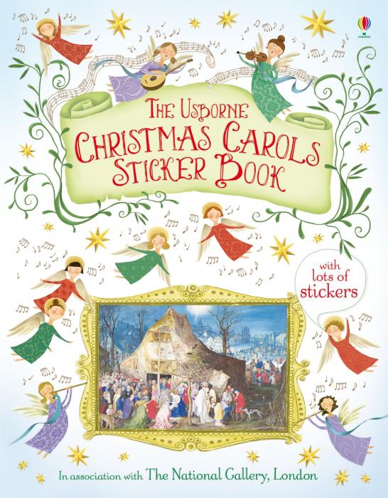 Christmas carols sticker book [0]