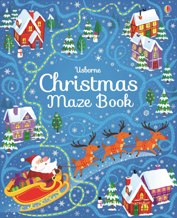 Christmas maze book [0]