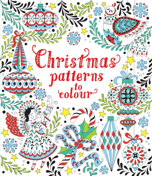 Christmas patterns to colour [0]