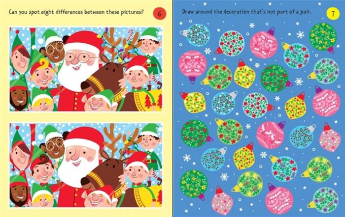 Christmas puzzles pad [3]