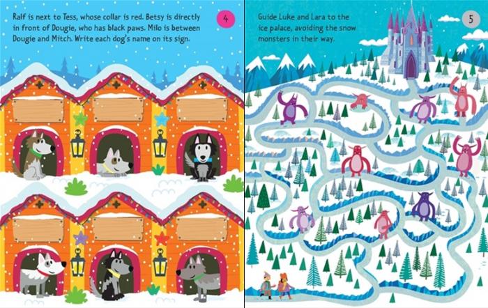 Christmas puzzles pad [2]