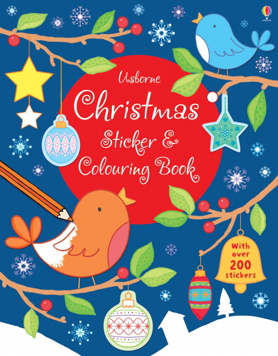 Christmas sticker and colouring book [0]