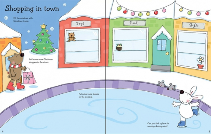 Christmas sticker and colouring book [1]