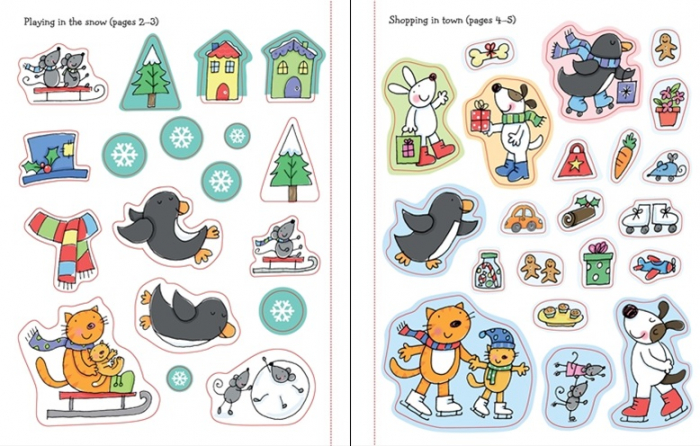 Christmas sticker and colouring book [3]