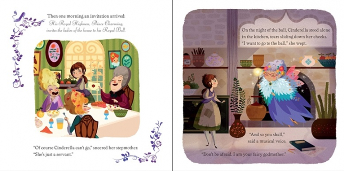 Cinderella picture book and jigsaw [2]