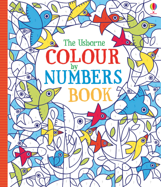 Colour by numbers book [0]