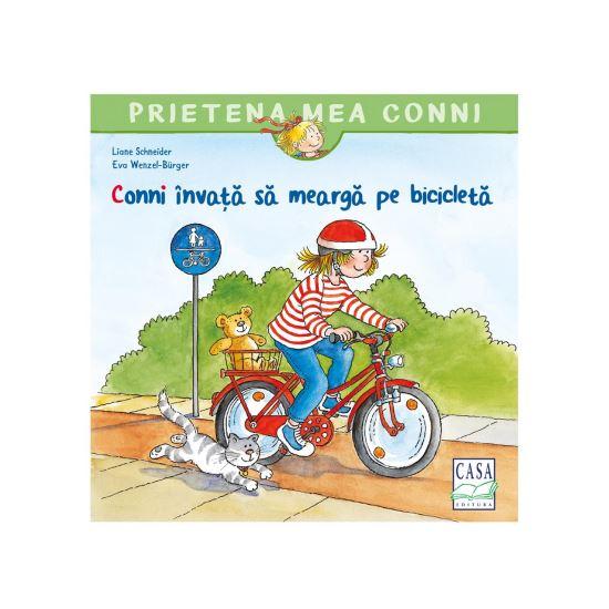 Conni invata sa mearga pe bicicleta [0]