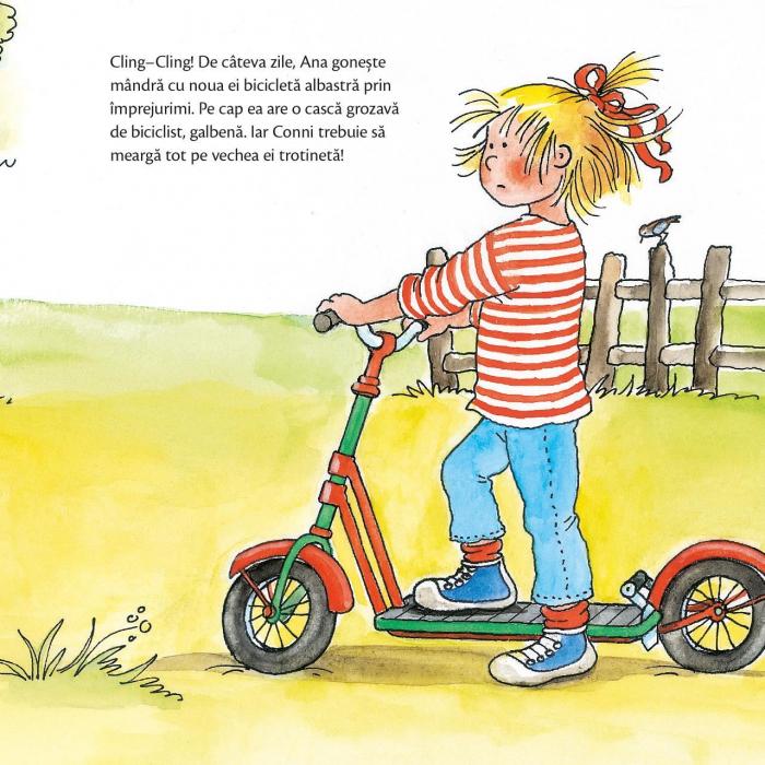 Conni invata sa mearga pe bicicleta [2]